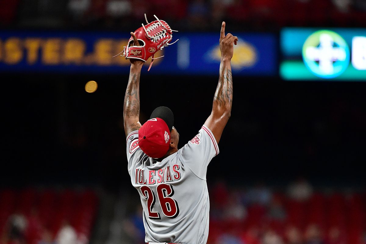 MLB: Game Two-Cincinnati Reds at St. Louis Cardinals