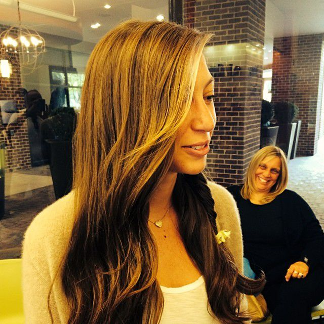 Summer hair inspiration see highlights from five dc salons at nival salon spa in friendship heights get beach hair without setting foot near the shore pmusecretfo Image collections