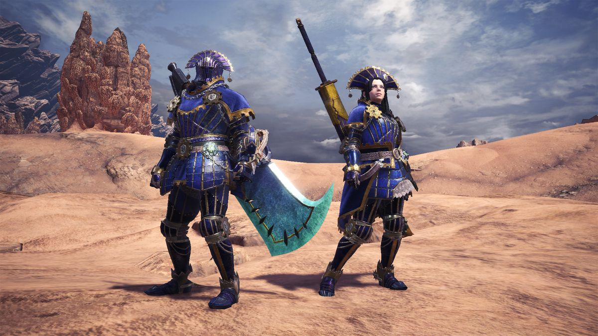 Monster Hunter: World - Lunastra gear