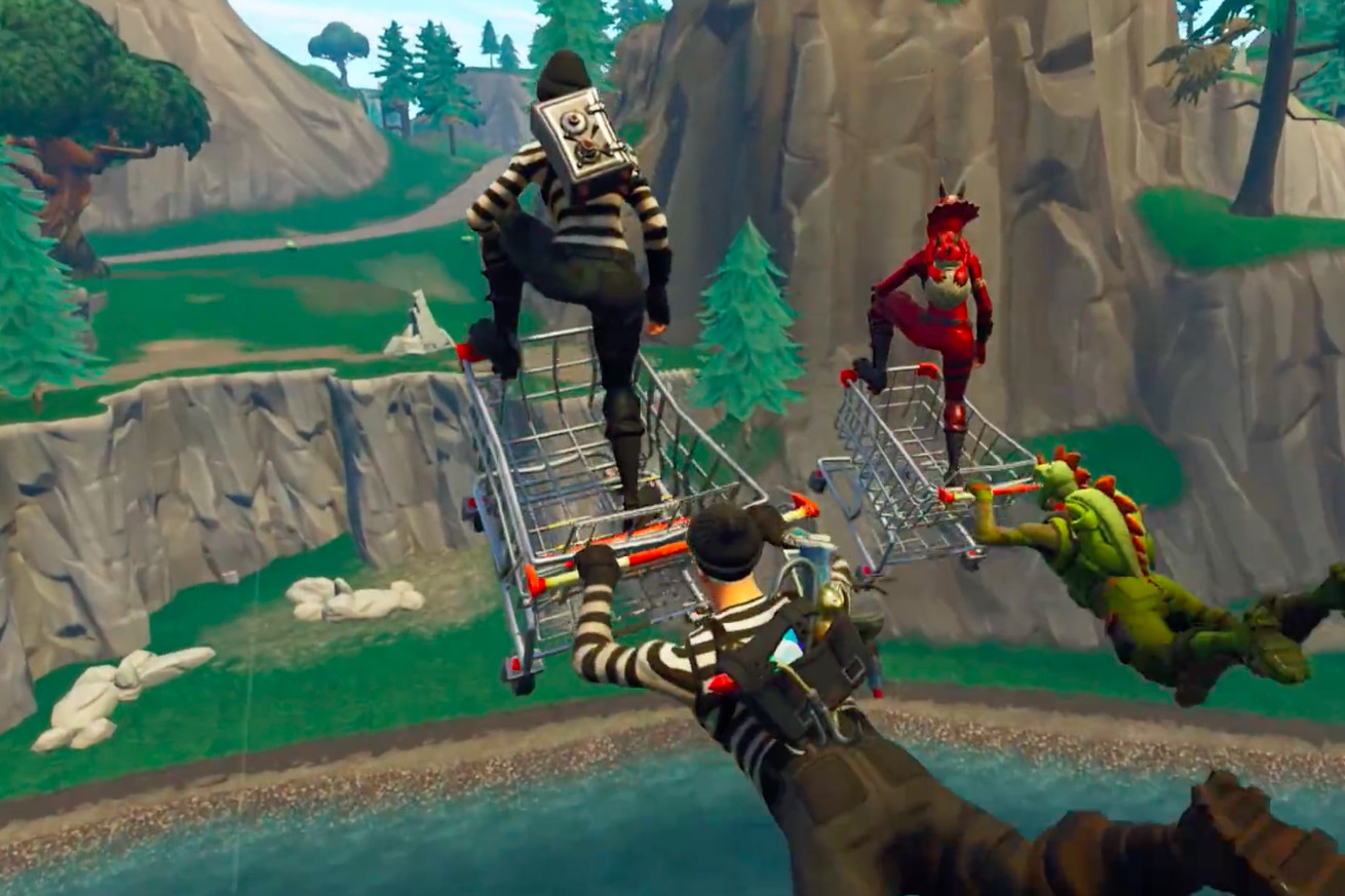 here s why fortnite shopping carts are giving epic games such a big headache
