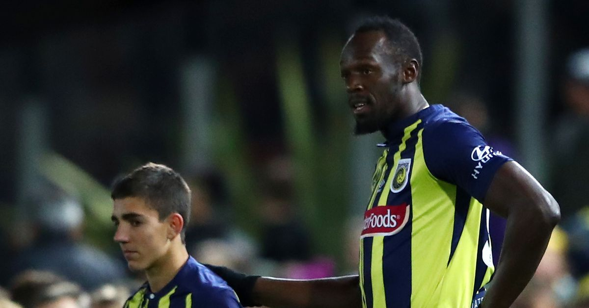 38b0f9af8 Major Link Soccer  Usain Bolt is actually playing soccer - Sounder At Heart
