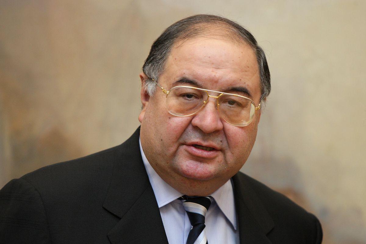 Alisher Usmanov Visits The Turner Bequest