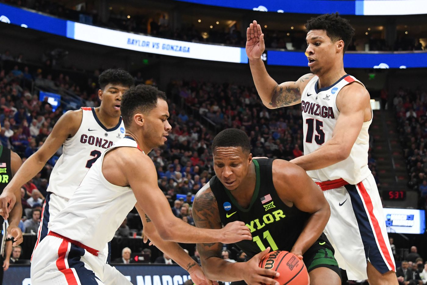 Baylor Falls to Gonzaga 83-71 - Our Daily Bears