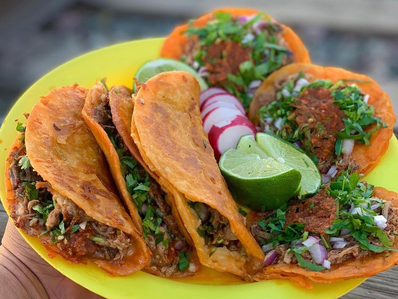 Tacos from Teddy's Red Tacos