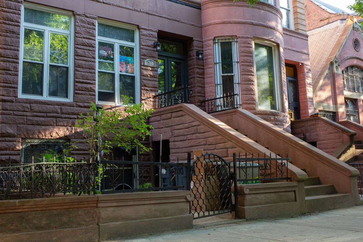 Mayoral candidate Dianne Morales' home in Bed-Stuy, Brooklyn, May 14, 2021.