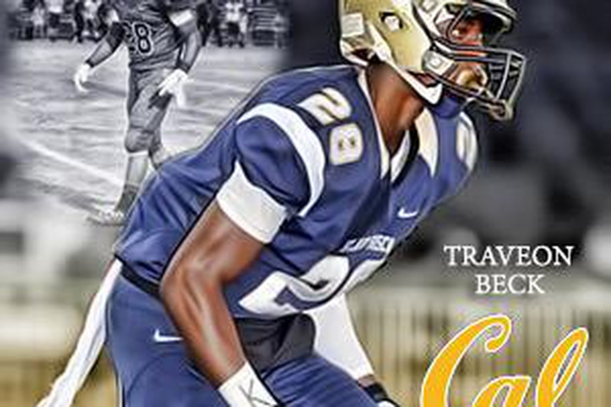 Traveon Beck, Cal commit
