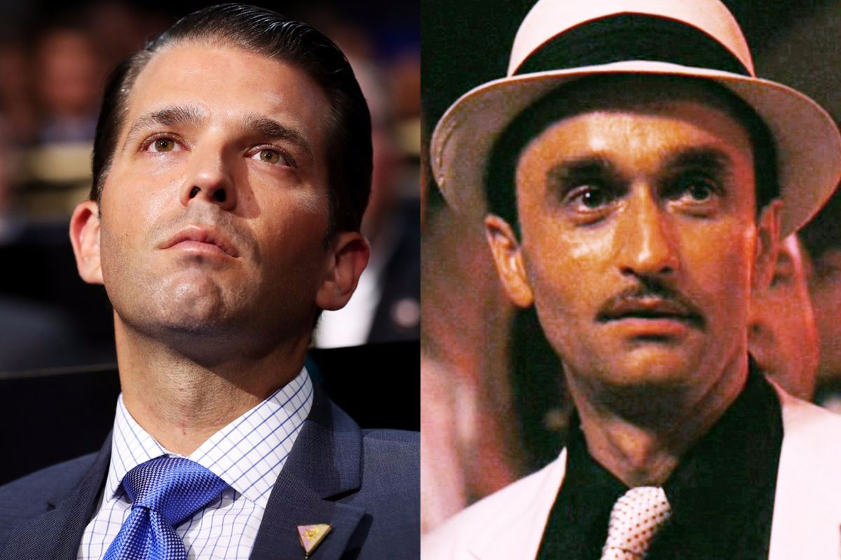 Image result for photos of donald trump as don corleone