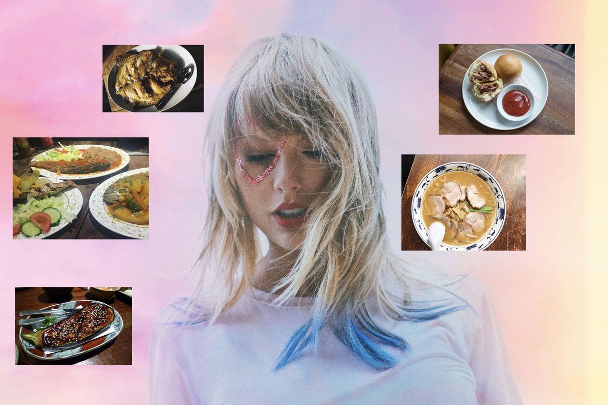 Taylor Swift's new song London Boy, inspiring a restaurant crawl