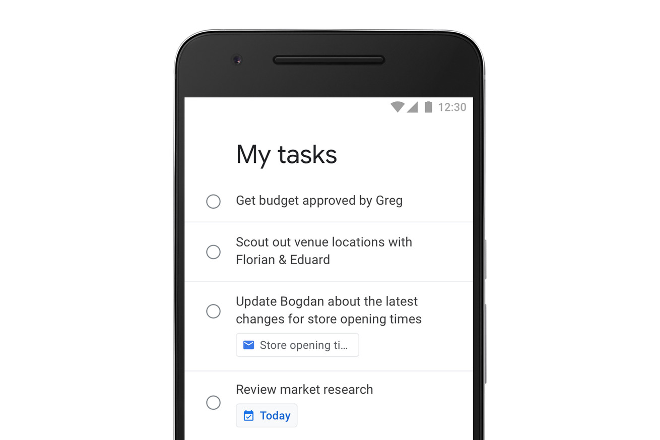 google is finally making a standalone tasks app