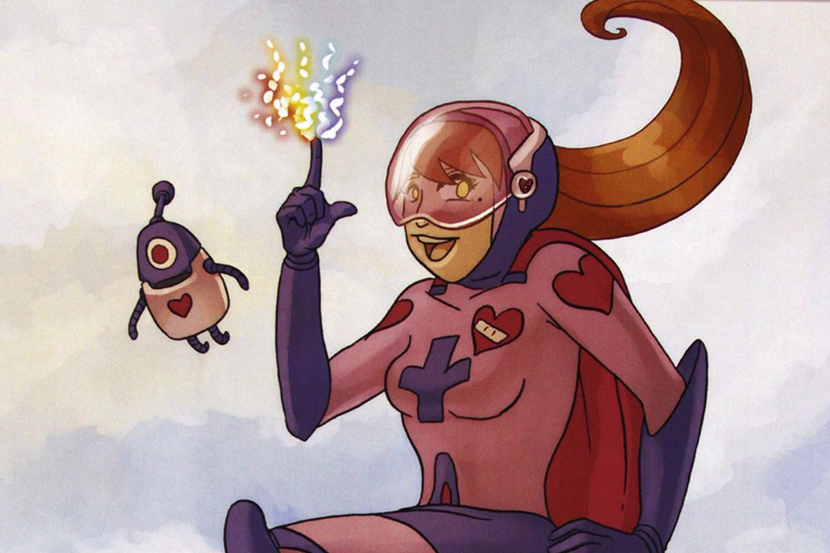 Comic Artists Draw Sick Kids As Superheroes To Benefit