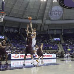 TCU Basketball vs University of Louisiana Monroe, November 10, 2017.