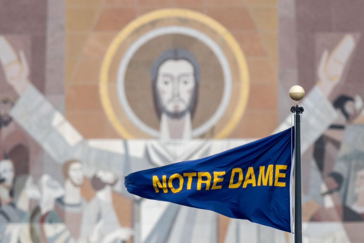 0352437db7f Stakes Get Much Bigger For Notre Dame With College Gameday Spotlight - One  Foot Down