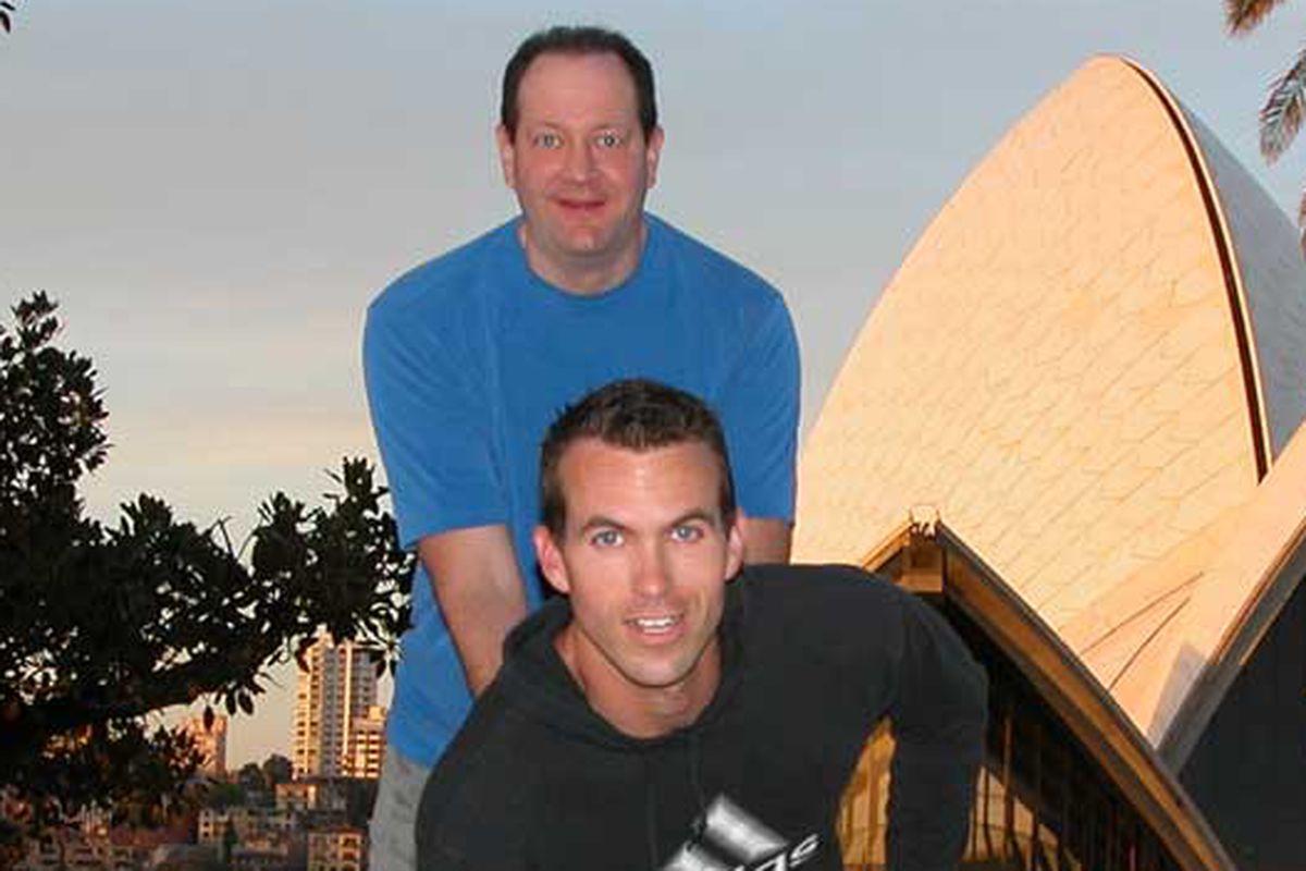 Jim Buzinski Cyd Zeigler Sydney Australia Gay Games 2002