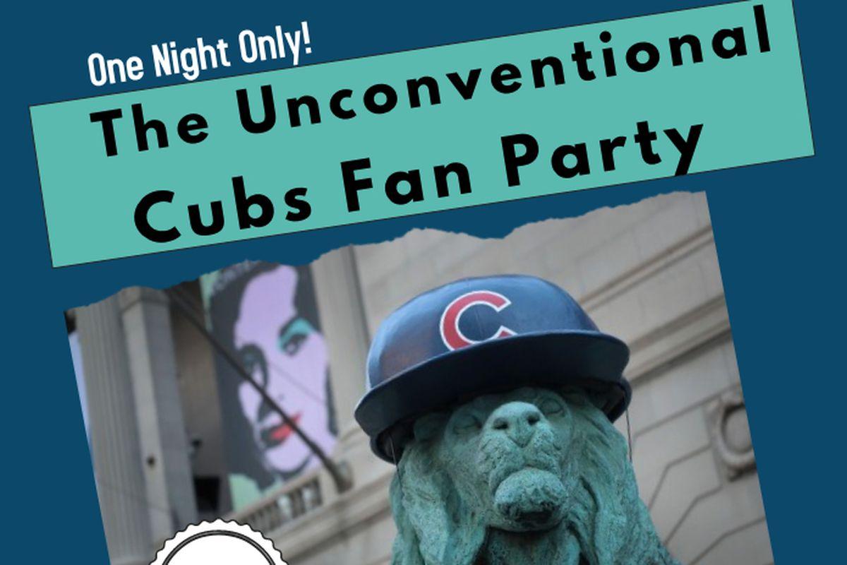 Cubs fan party