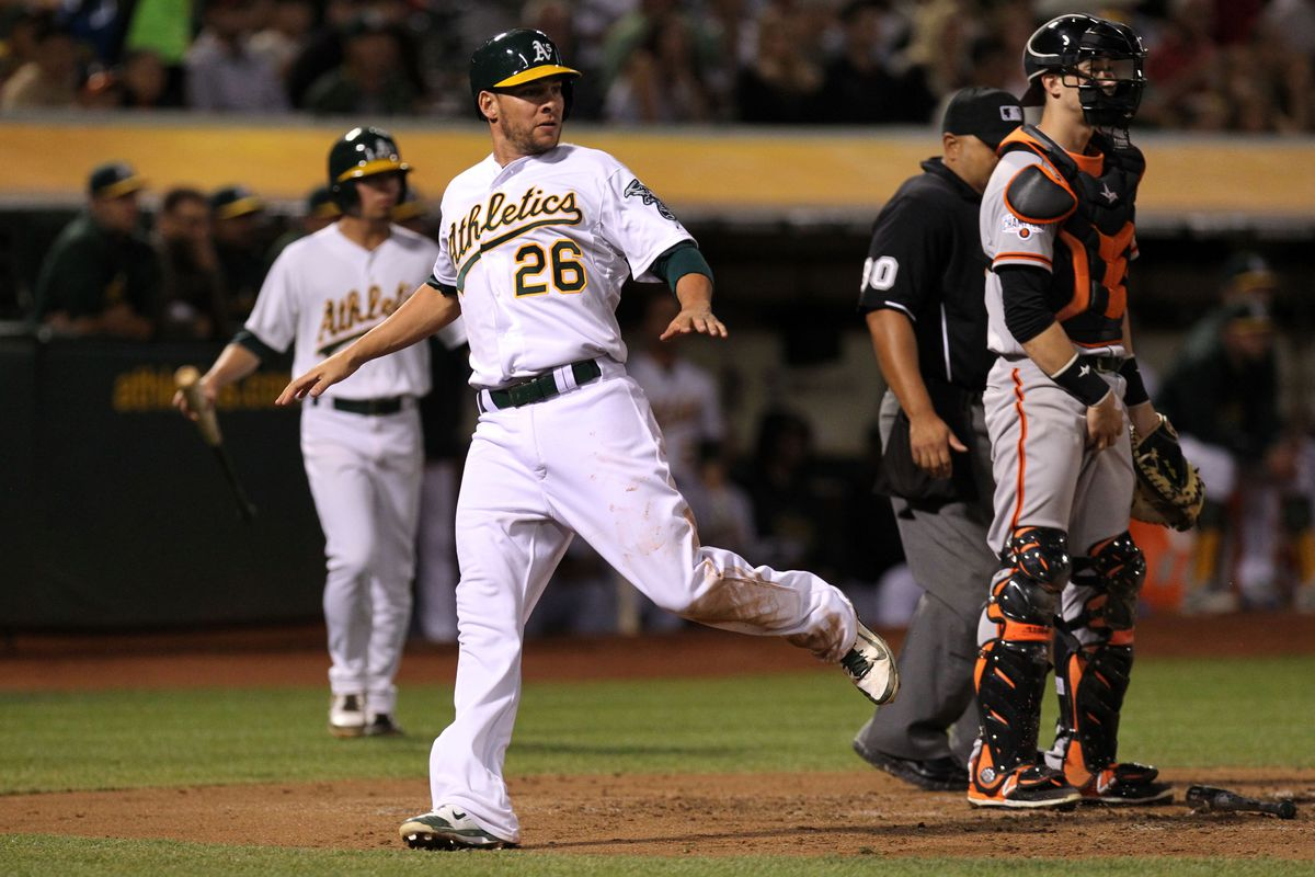 Game #154: A's Play (And Win!) A Real Baseball Game