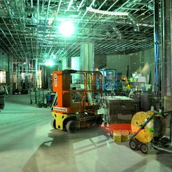 Third floor construction.