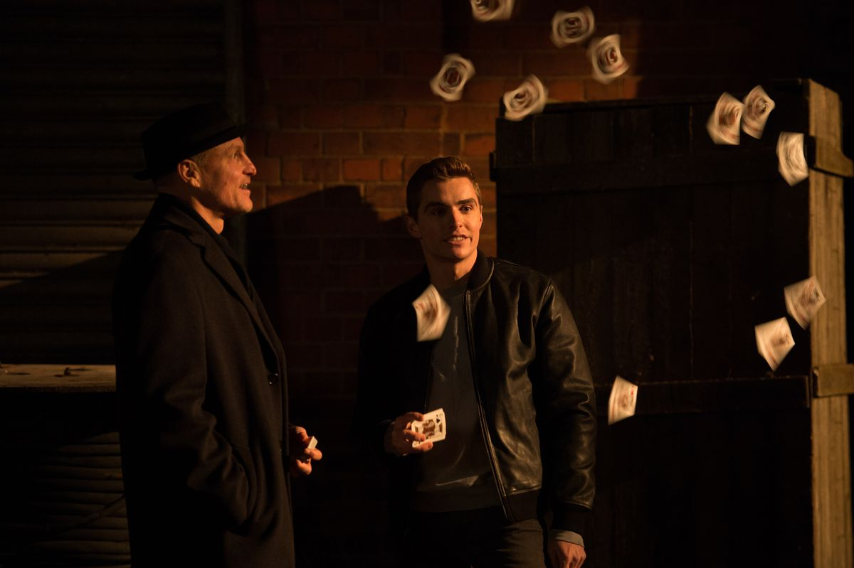 """Woody Harrelson (left) and Dave Franco in """"Now You See Me 2.""""   Summit Entertainment"""