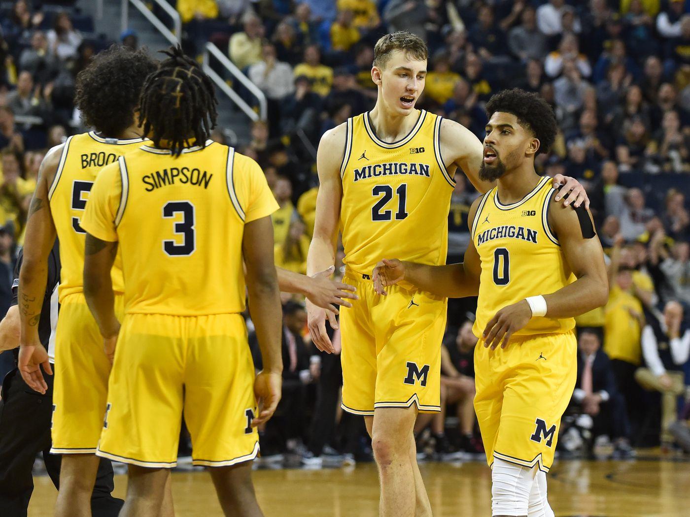 Thursday Open Thread Michigan Basketball Confidence Check