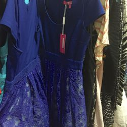 Astral blue Zoe dress, $50 (was $158)