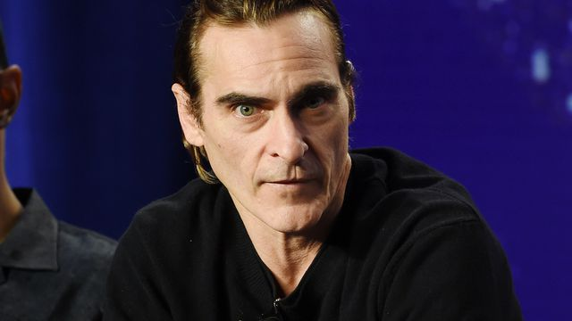 Joaquin Phoenix during the 2018 Toronto International Film Festival on Sept. 8.
