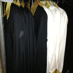 CdG Black Blouses, $80