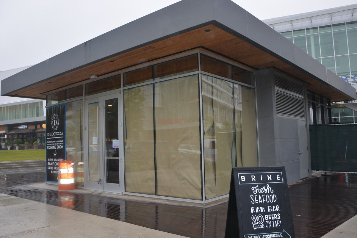 Mom and Pop's at Mosaic District, now under construction.