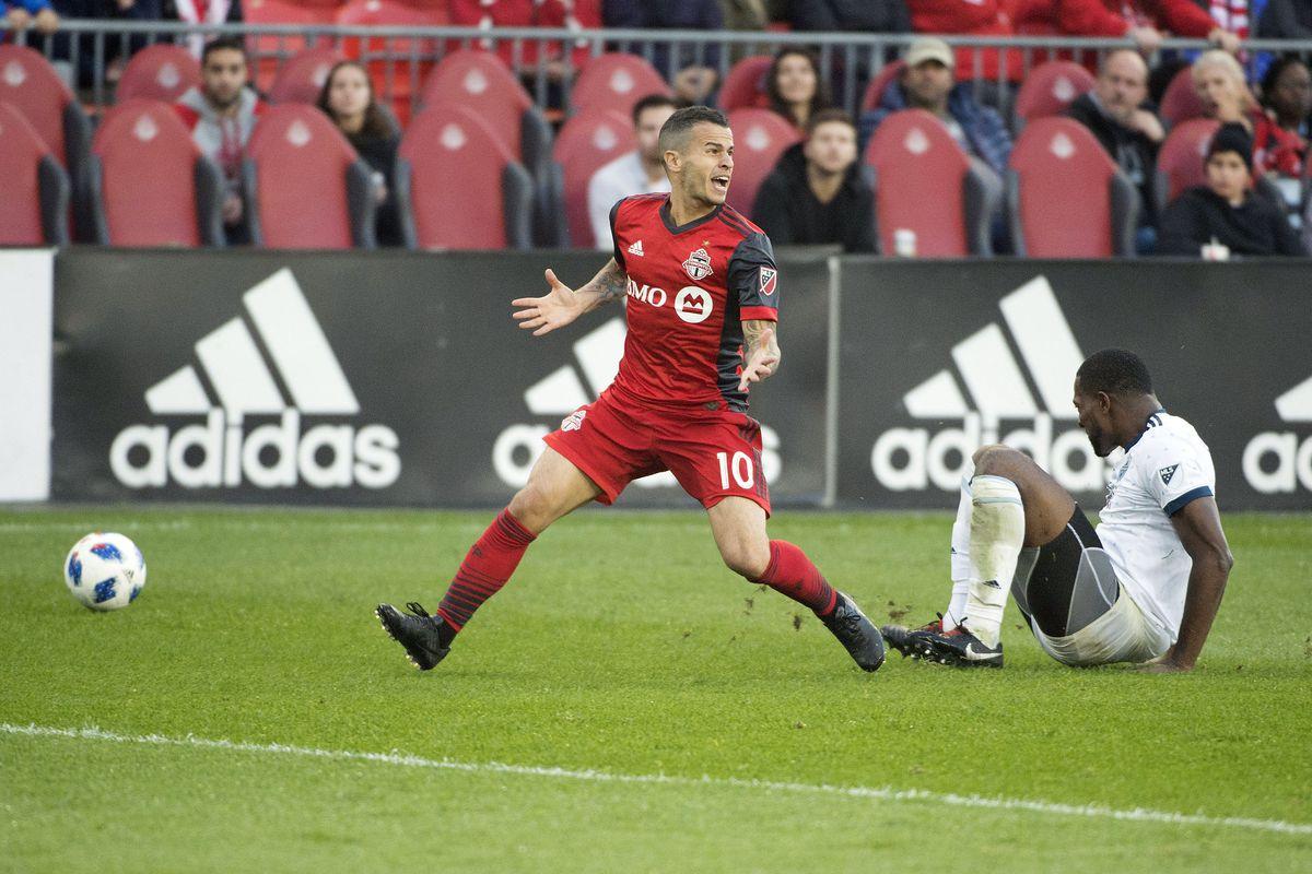 MLS: Vancouver Whitecaps at Toronto FC