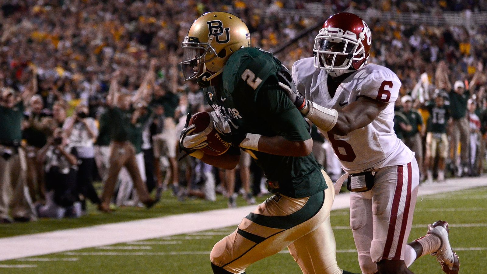 This Day in Baylor Football History: Baylor 45, Oklahoma 38 - Our Daily Bears