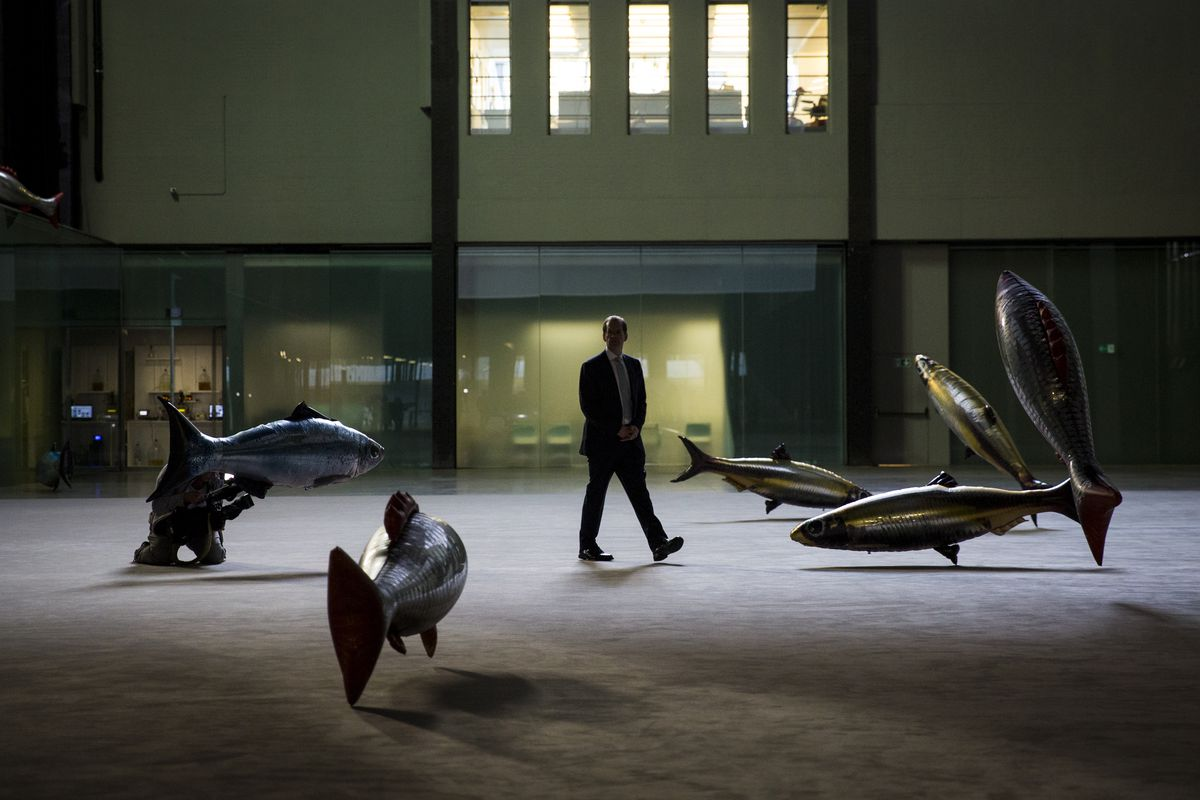 The Tate Modern Opens Hyundai Commission by Philippe Parreno