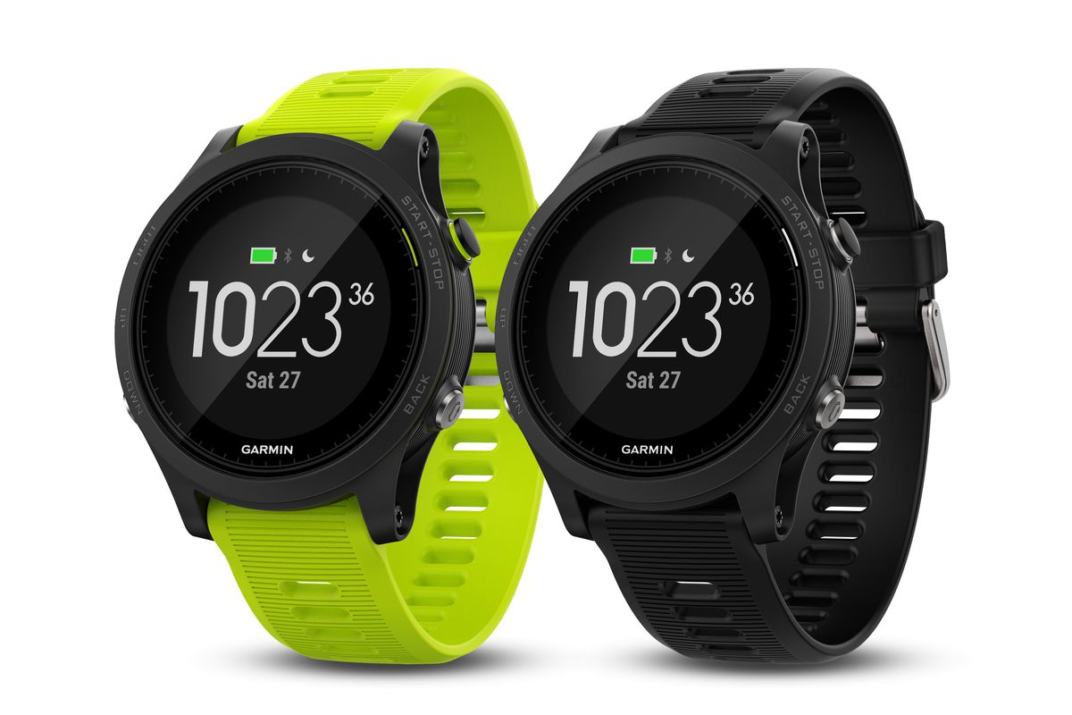 Garmin s new forerunner 935 adds more advanced training features to the previous 735xt the verge for Garmin watches
