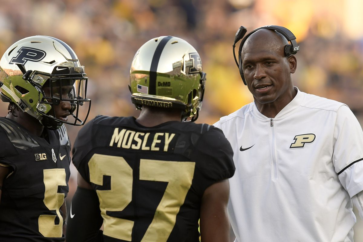 COLLEGE FOOTBALL: SEP 23 Michigan at Purdue