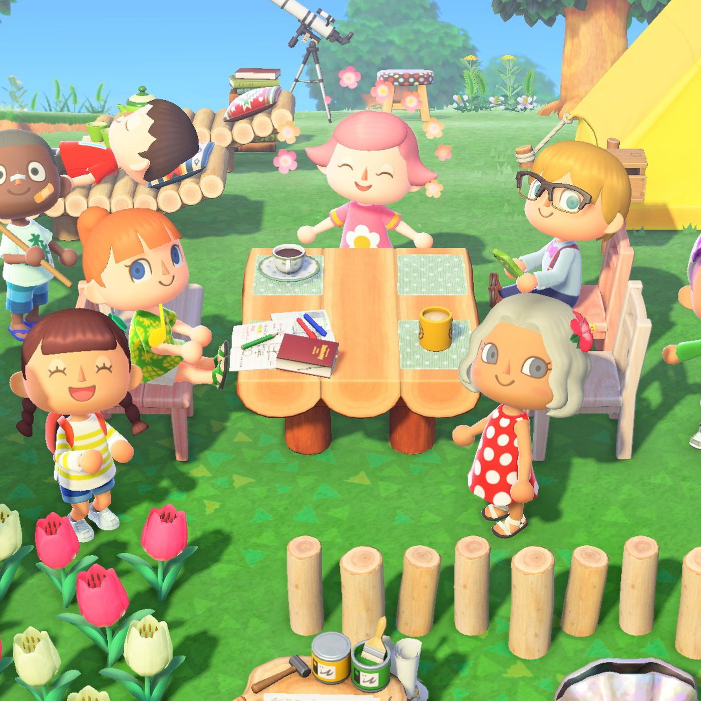 Animal Crossing New Horizons Review A Much Needed Escape Polygon