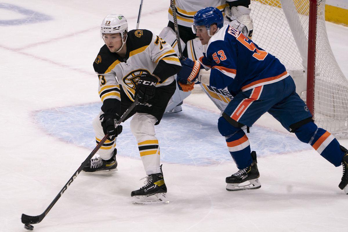 NHL: FEB 13 Bruins at Islanders
