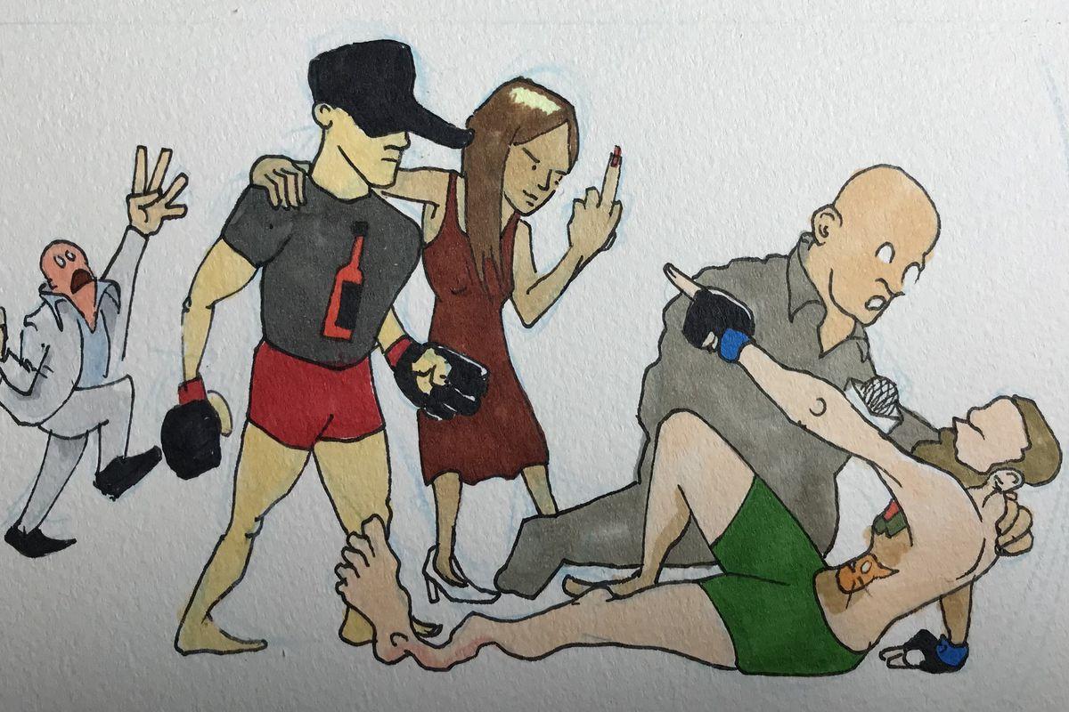 MMA Squared, Chris Rini, UFC 264, Conor McGregor, Dustin Poirier, Dana White, Lightweight title, broken leg, broken ankle, doctor stoppage