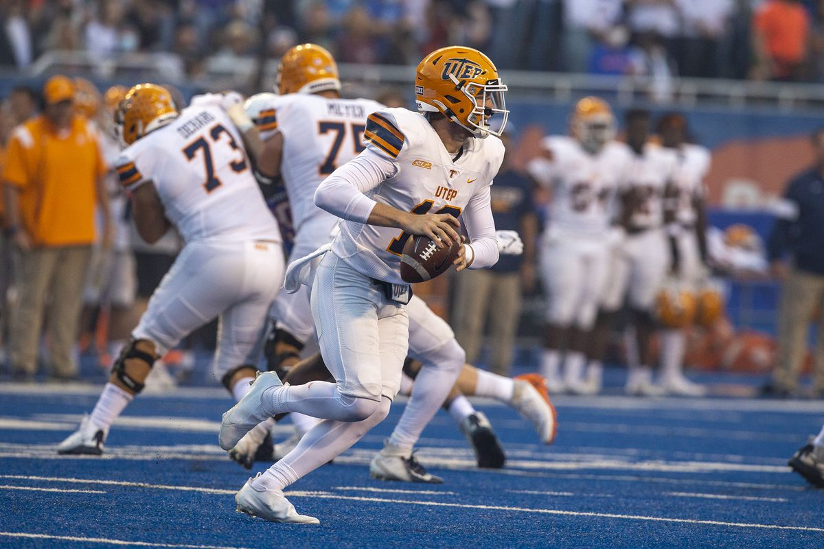 NCAA Football: Texas El Paso at Boise State