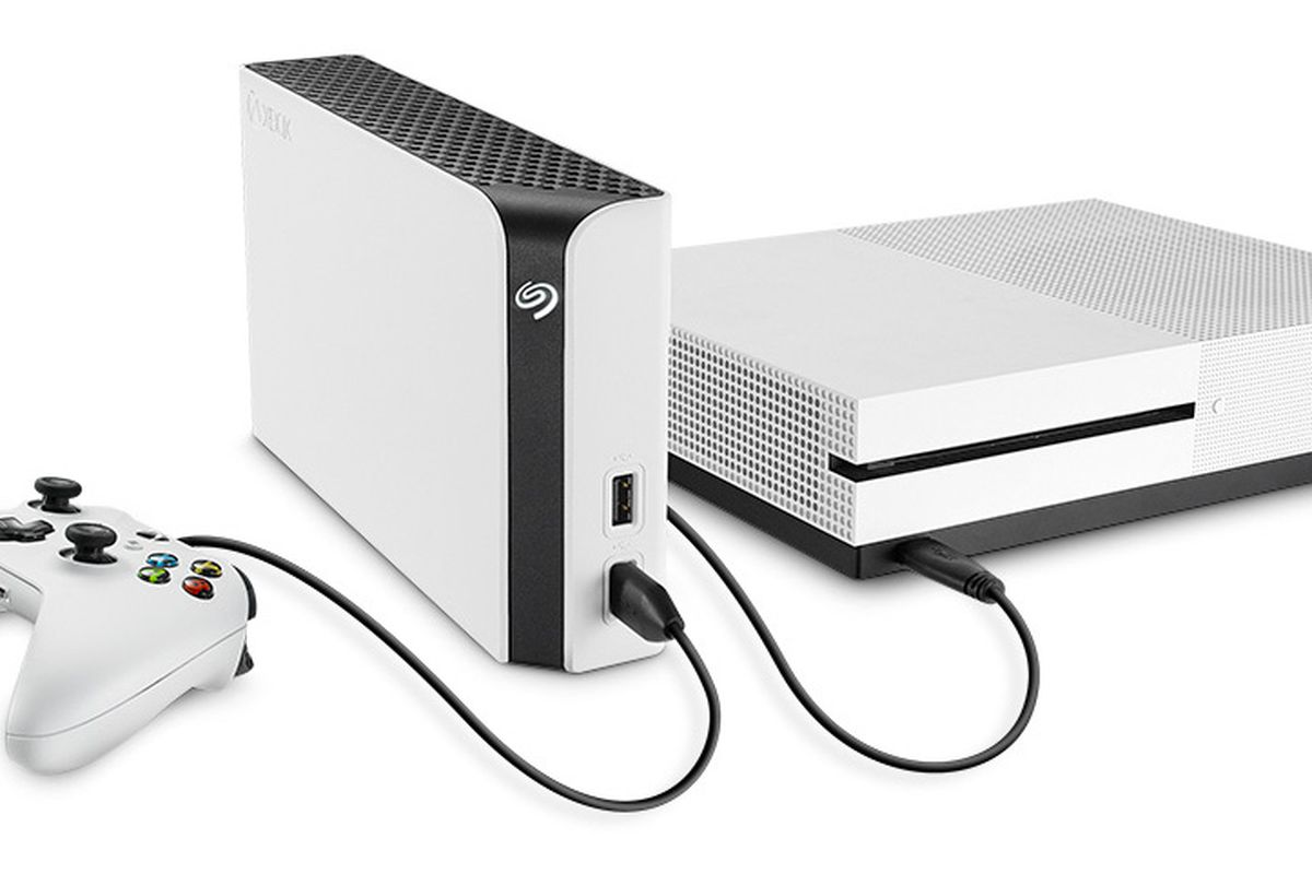Seagate Game Drive Hub For Xbox One Offers 8TB Storage