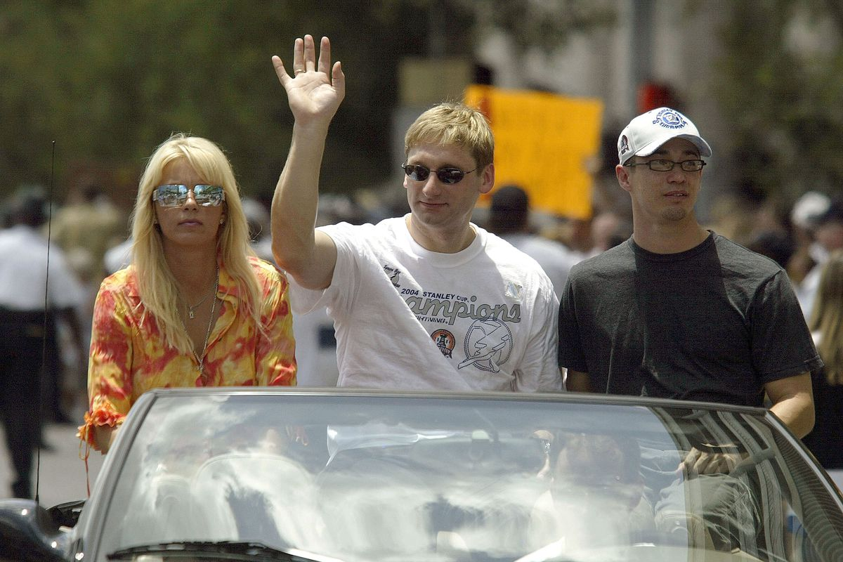 2004 Stanely Cup Tampa Bay Lightning victory parade