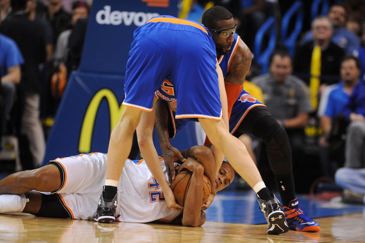 I'd take Thomas over Aldrich or Stoudemire any day. I think the Knicks would, too.