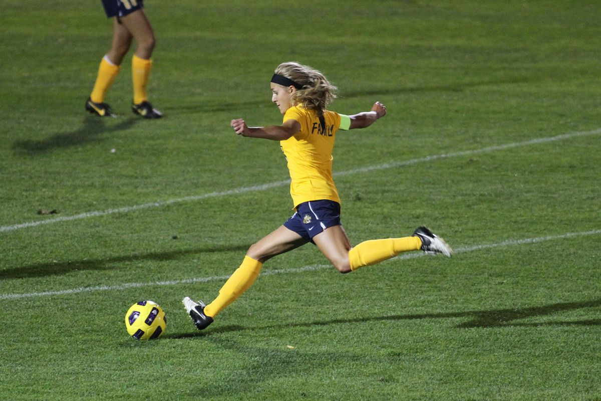Jacie Jermier has goals in free kicks in two straight games.