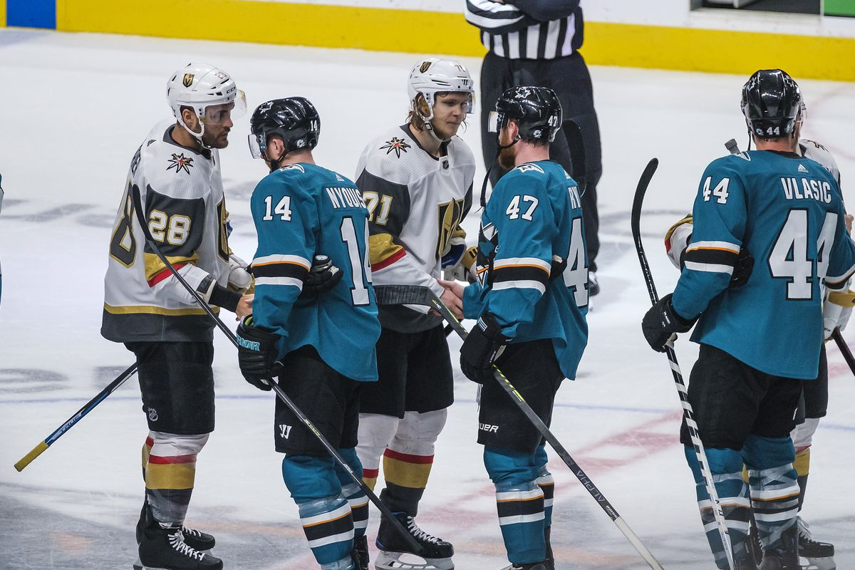 Alternate San Jose Sharks History: A first round exit