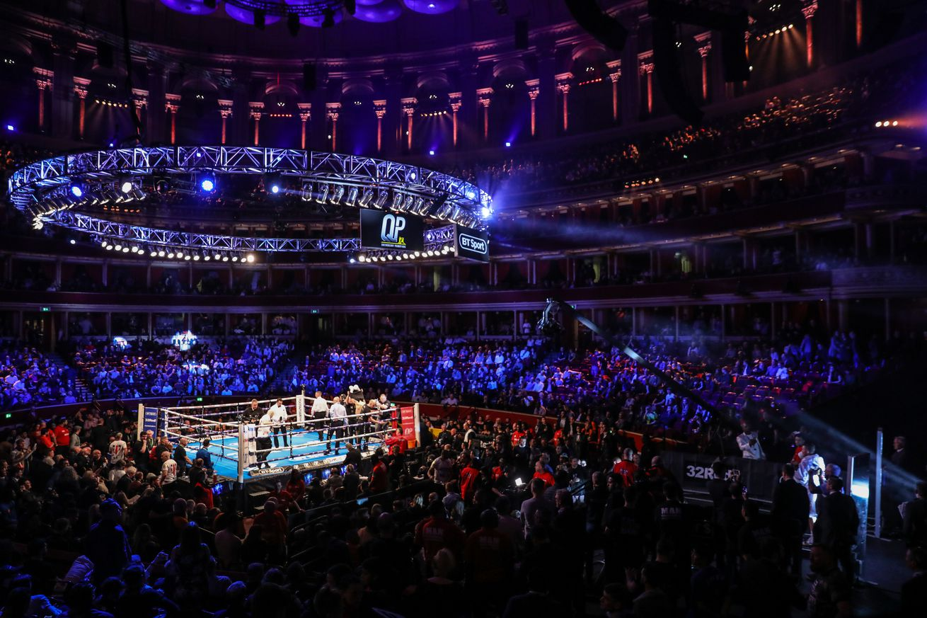 Boxing at Royal Albert Hall