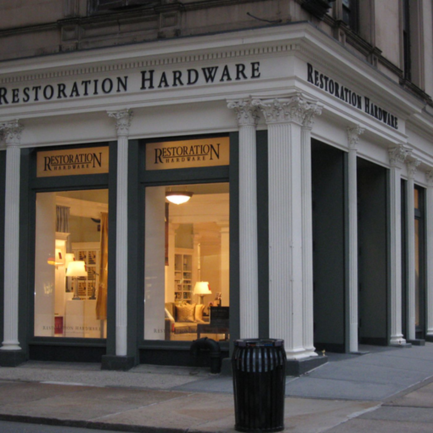 Restoration Hardware Gets New Look