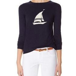 """Intarsia sailboat sweater, <a href=""""http://www.thelimited.com/product/intarsia-sailboat-sweater/5856728.html?ppid=c14&start=14&cgid=new-sweaters&dwvar_5856728_colorCode=25"""">The Limited</a>, $59.95"""