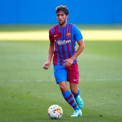 Sergi Roberto is fit again and back in action