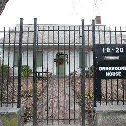 """<b>↑</b>An unexpected trip back in time happens at the <a href="""" http://www.onderdonkhouse.org/"""">Vander Ende-Onderdonk House</a></b> (1820 Flushing Avenue), the oldest Dutch Colonial stone house in NYC, and a leafy patch of idyllic, nineteenth century cha"""