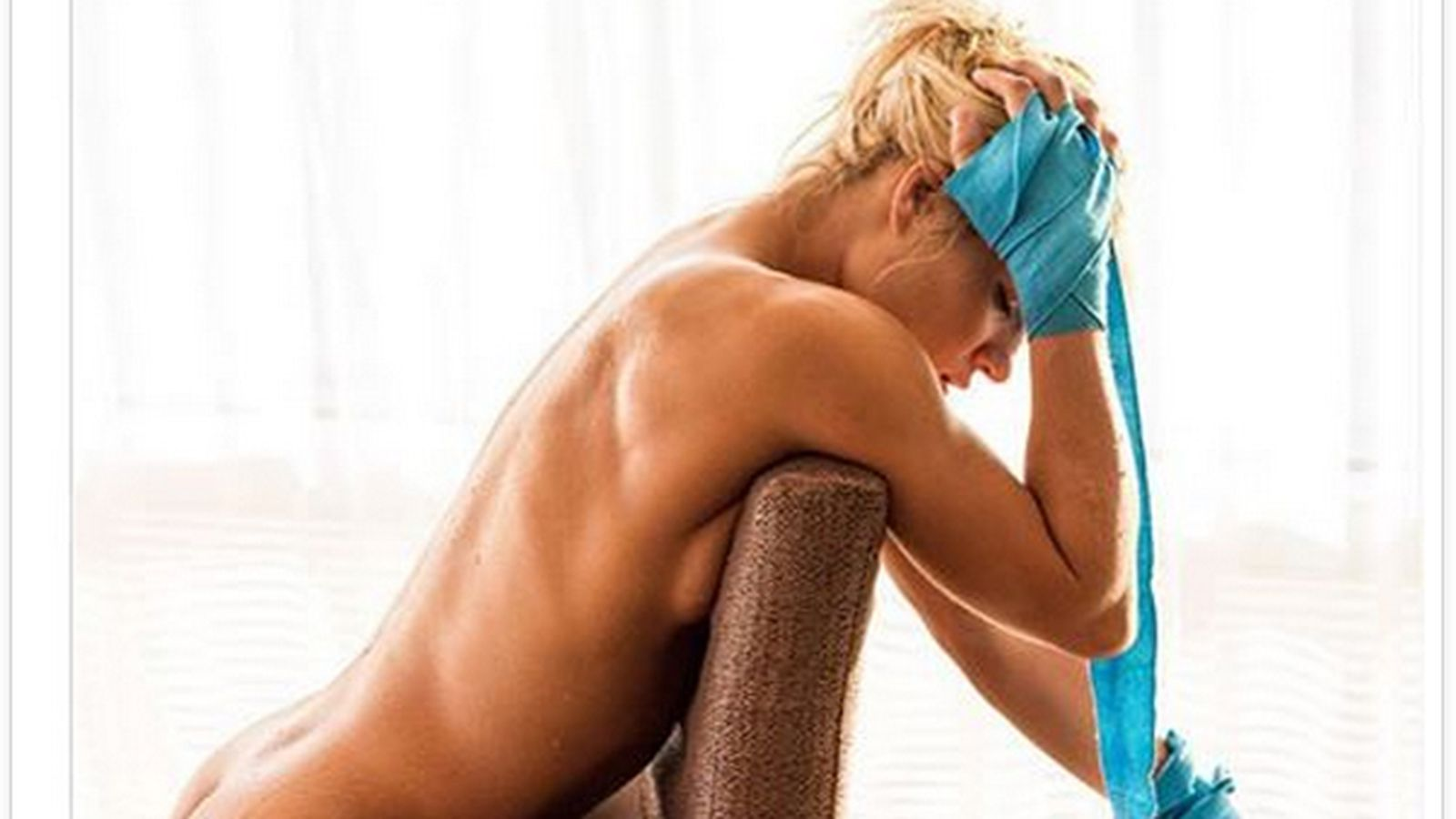 Pic: UFC strawweight Felice Herrig gets naked for Muscle ...