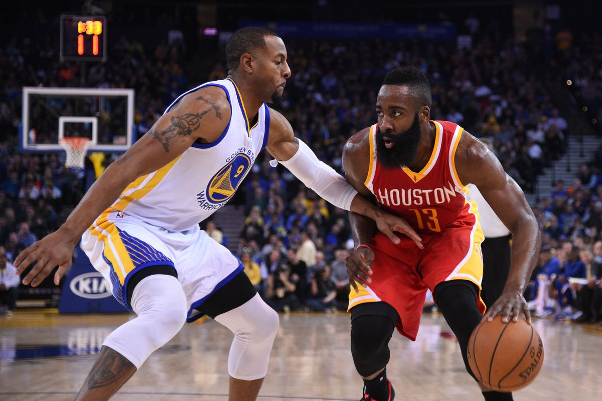 After resting last night, Andre Iguodala will be needed to slow MVP candidate James Harden.