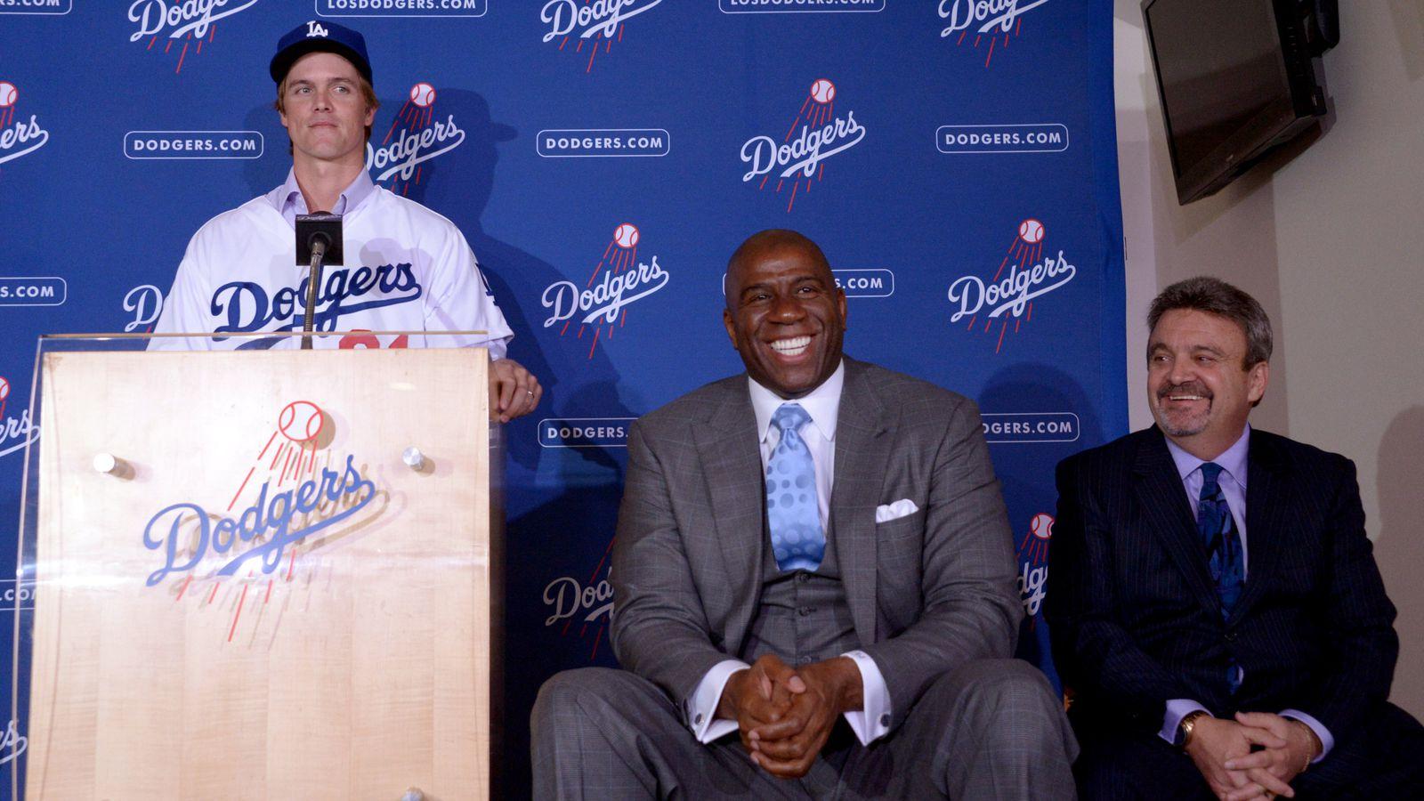 Zack Greinke Dodgers Press Conference Dodgers links: Zack Gr...