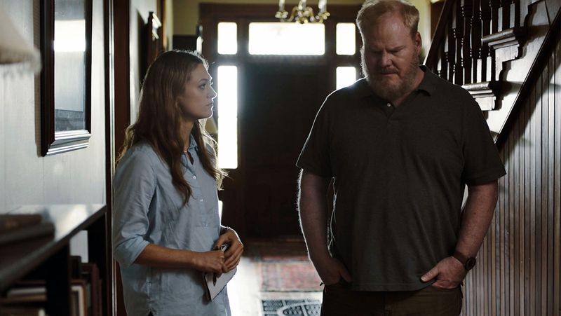 Marin Ireland and Jim Gaffigan in Light from Light.