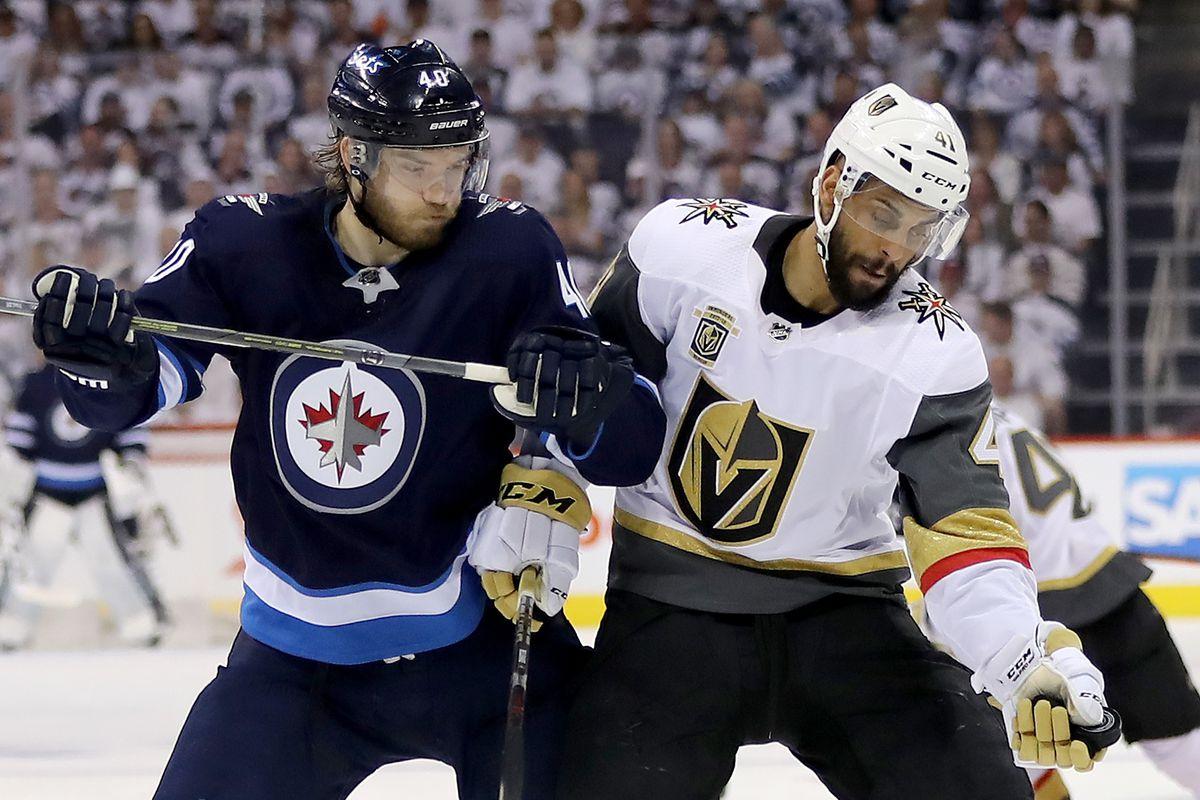 Vegas Golden Knights v Winnipeg Jets - Game One